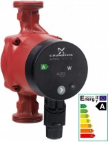 Grundfos ALPHA2 25-40 NEW, 180mm, R 1
